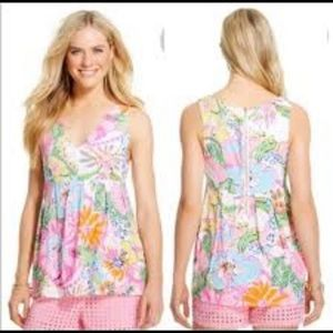 Lily Pulitzer Nosey Posey floral
